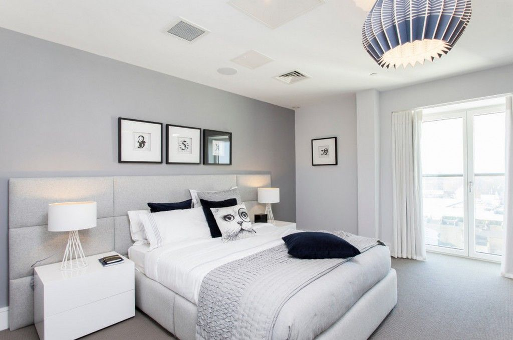 Modern style of decoration in the bedroom