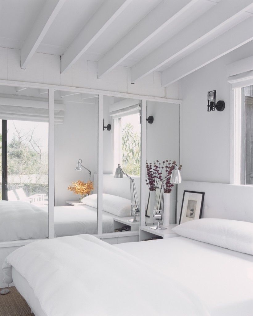 Fresh Advice Modern Small Condo. Totally white interior with ceiling beams