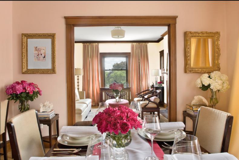Fresh Advice Modern Small Condo Visual Expanding. Mirror in the chic royal interior