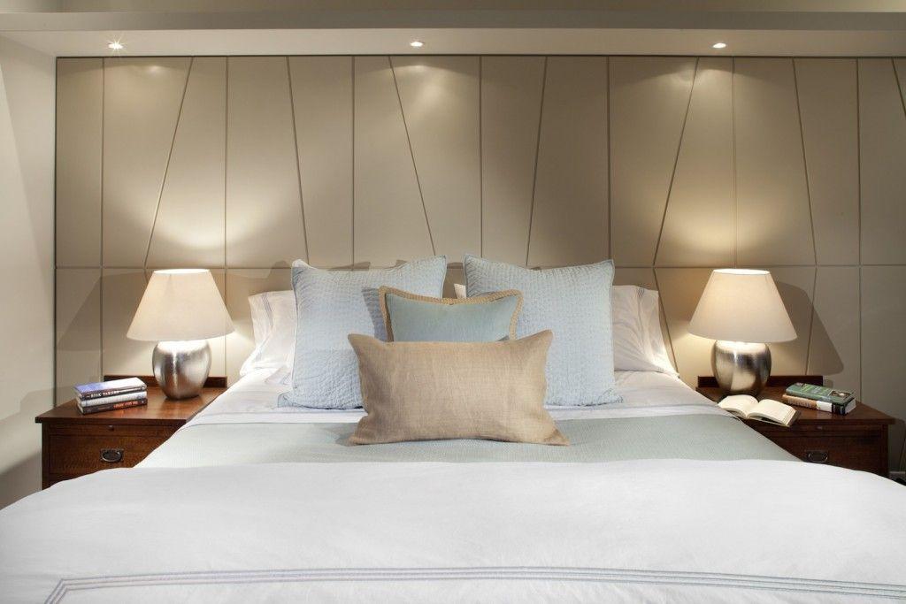Proper Bedroom Interior Lighting Schemes Photos. Spotlights on dedicated ceiling level