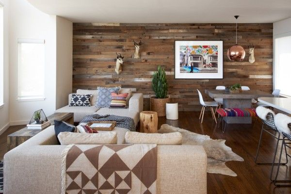Nice wooden country design ideas for real apartment