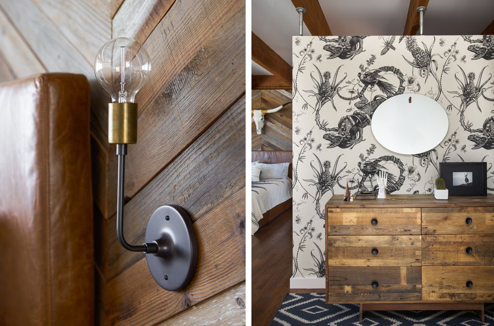 Easy and vintage decorating elements of the premise are bringing it closer to the look of a real hunter hut