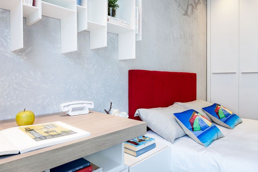 Bilbao`s apartment bedroom interior design