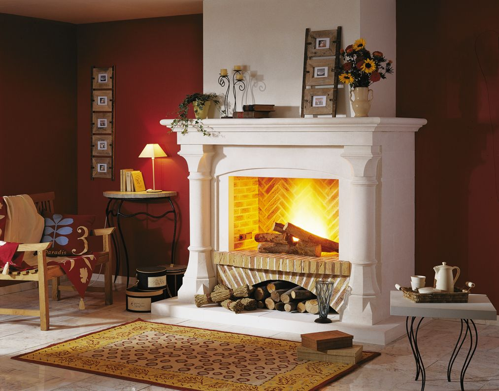 Modern Interior Fireplace Main Types. Modern timber or coal fireplace