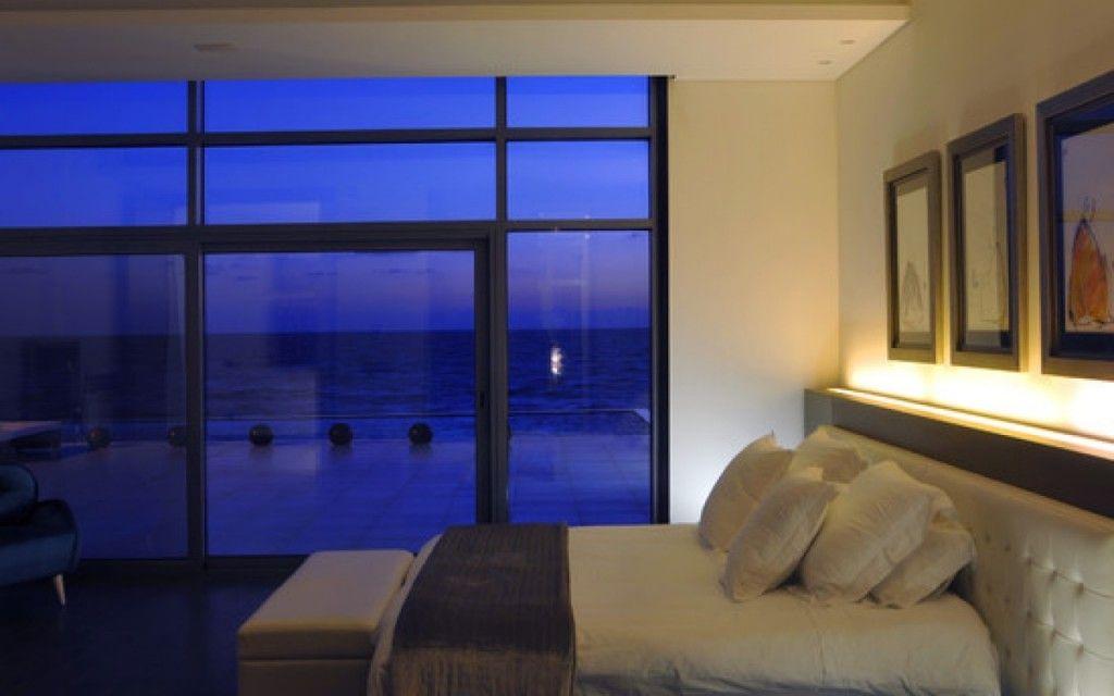 Proper Bedroom Interior Lighting Schemes Photos. LED headboard backlight theme