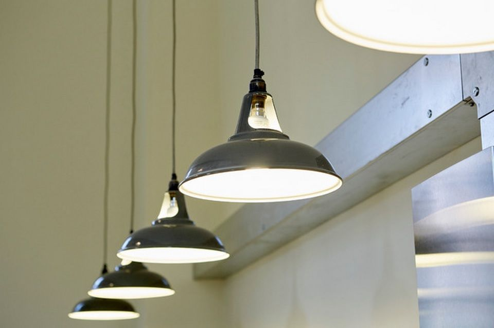 Lighting system of the pendant lamps