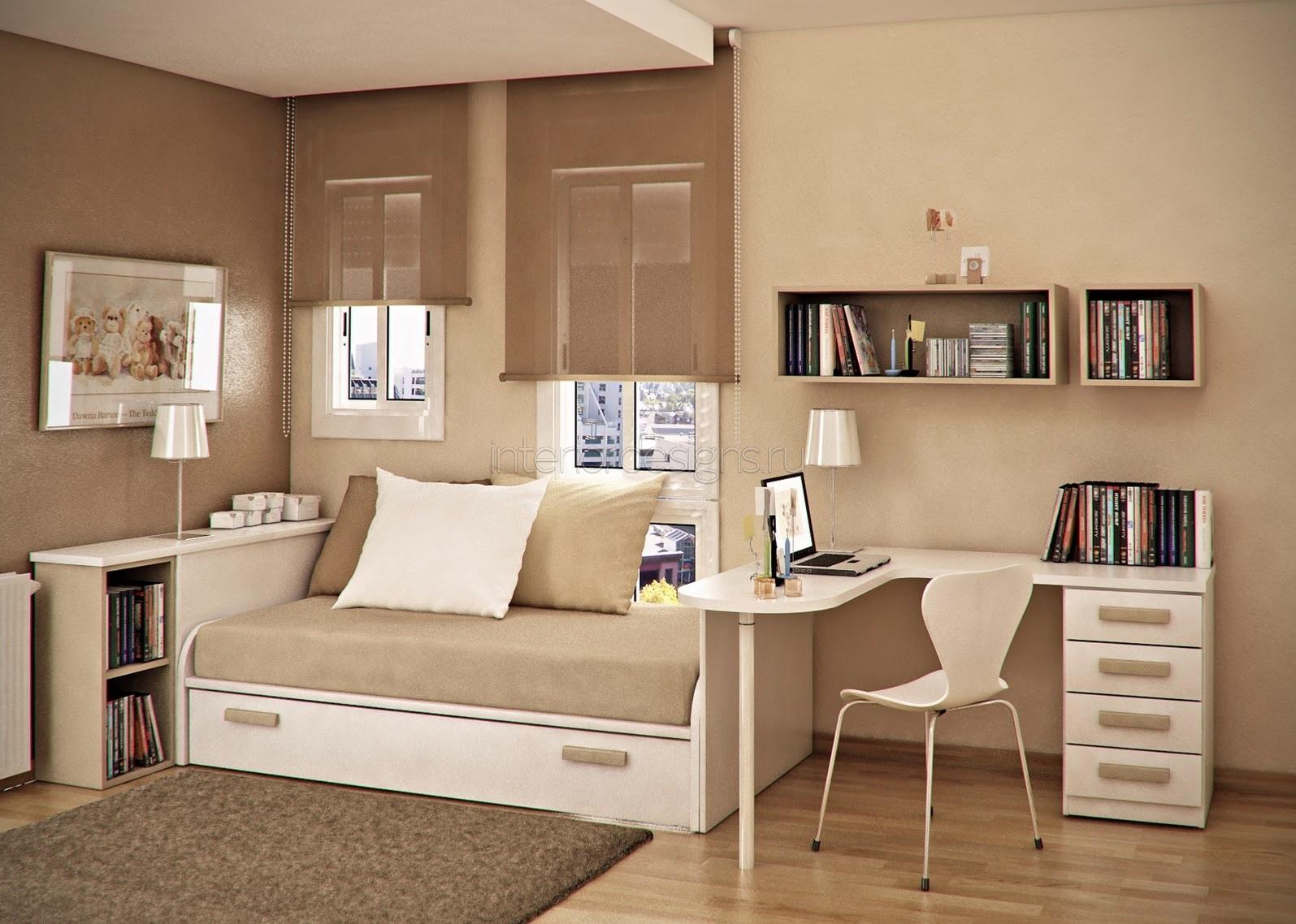 Small Bedroom Apartment Modern Small Studio Apartment Space Increasing Methods