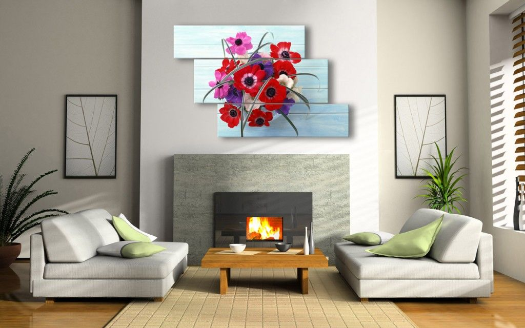 Modern Interior Pictures Placement Advice Flower Theme Of The Picture