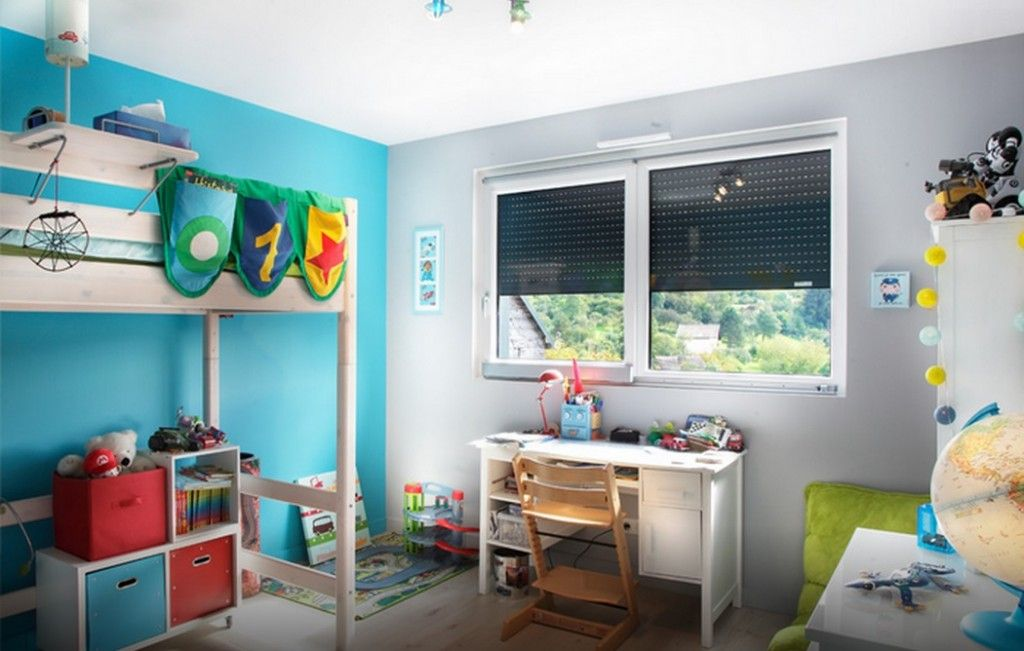 Сhildren`s Room Interior Design Ideas 2015. Bright theme for young adventurer