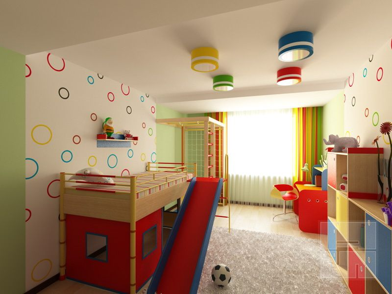 Proper Childrens Room Lighting Advice Photos. Safety lighting for extra active kids