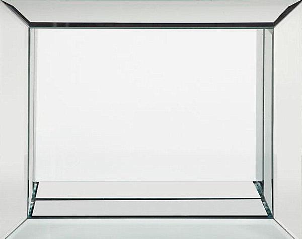Glass frame for decoration