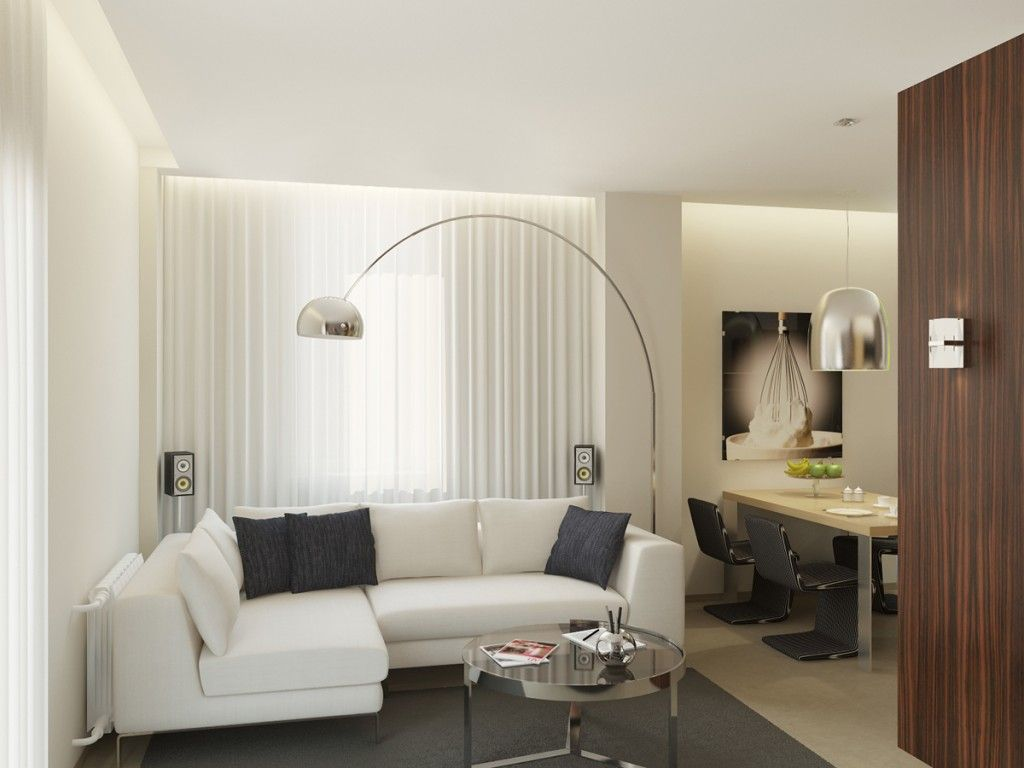 Living Room Lighting Placement Schemes. Floor lamp helps to highlight the resting zone