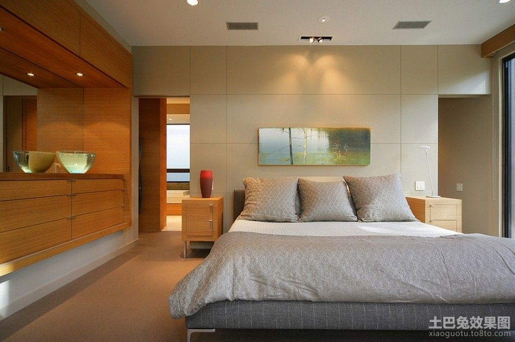 Bedroom Interior Furniture Set Programme Ideas. Naturalistic picture creates the atmosphere