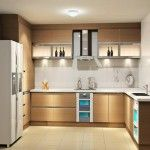 Kitchen Tiles & Furniture Color Сombination. Basic Rules in the hi-tech kitchen