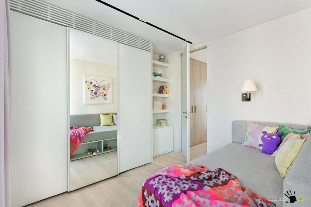 Kids` Room Furniture Selection Advice. Crystal white interior of the Scandinavian style