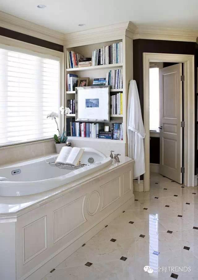 Nice Unusual Bookshelves Interior Decoration. Bathroom for reading