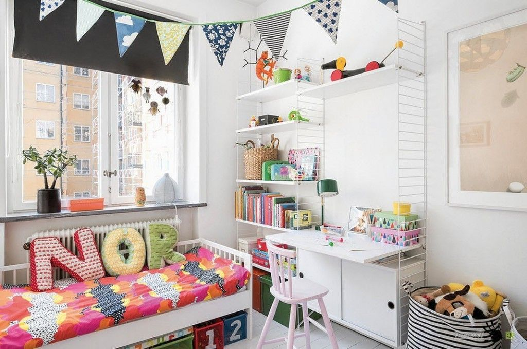 Kids` Room Furniture Selection Advice. Alphabetic pillows for the children`s room design