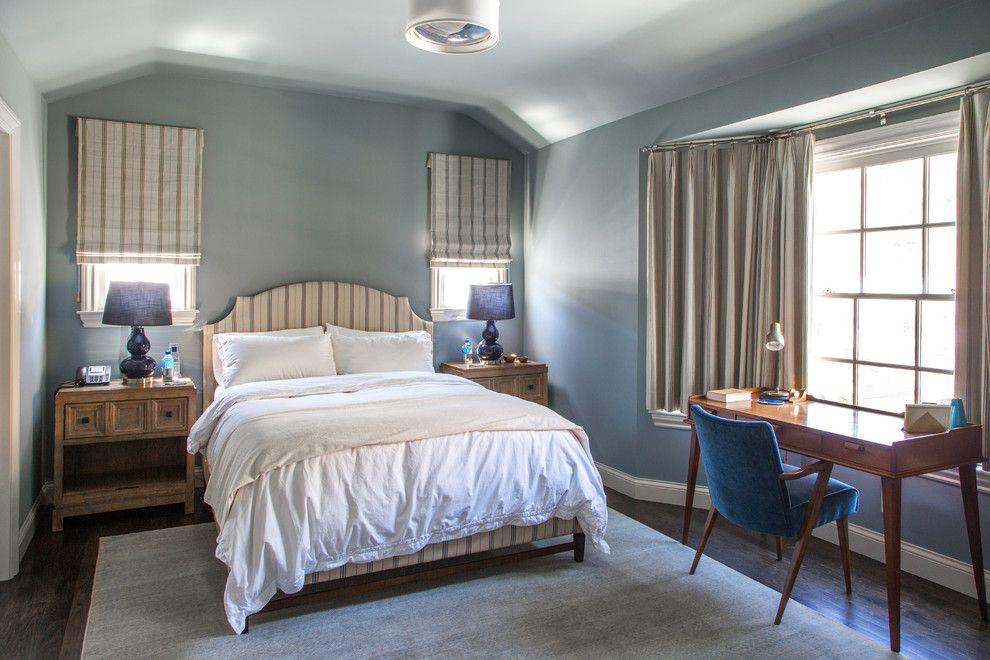 Bedroom Interior Furniture Set Programme Ideas. Nice calming atmosphere in derk blue tones