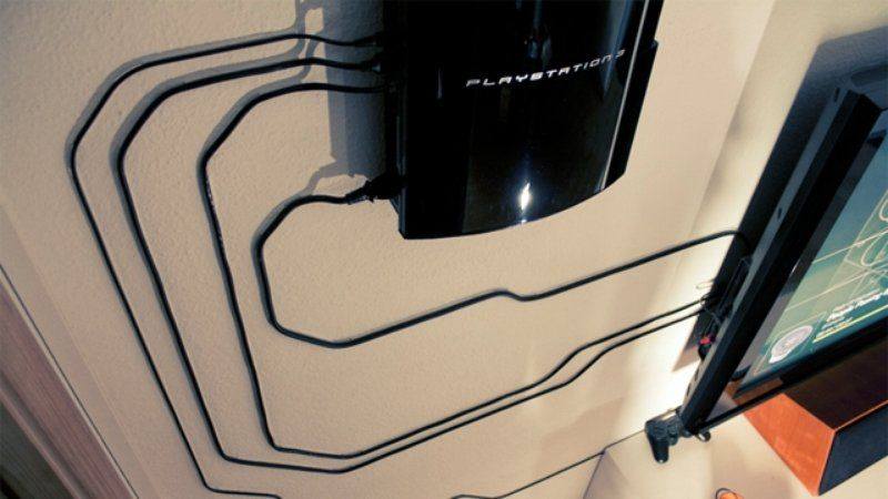 Wires and Cords as Interior Decorating Ideas for the playzone