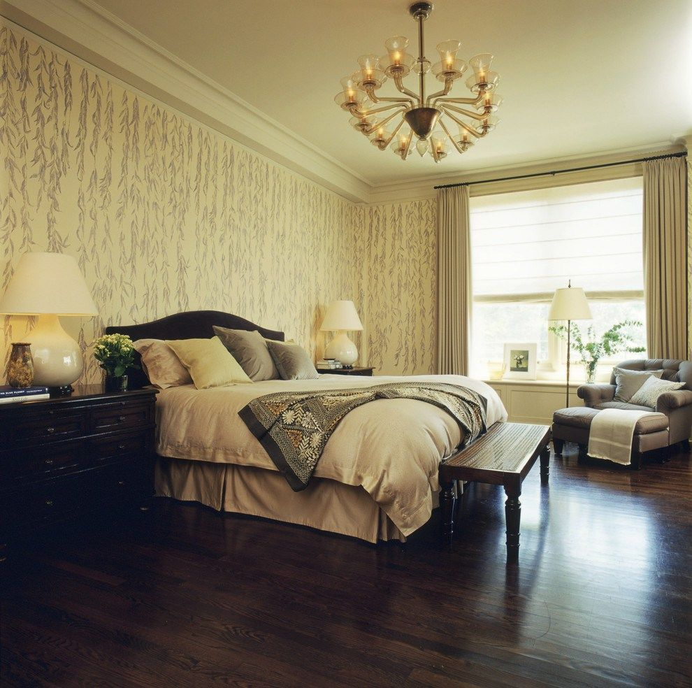 Textile Wallpaper Interior Decoration Ideas. Synthetic based wall covering