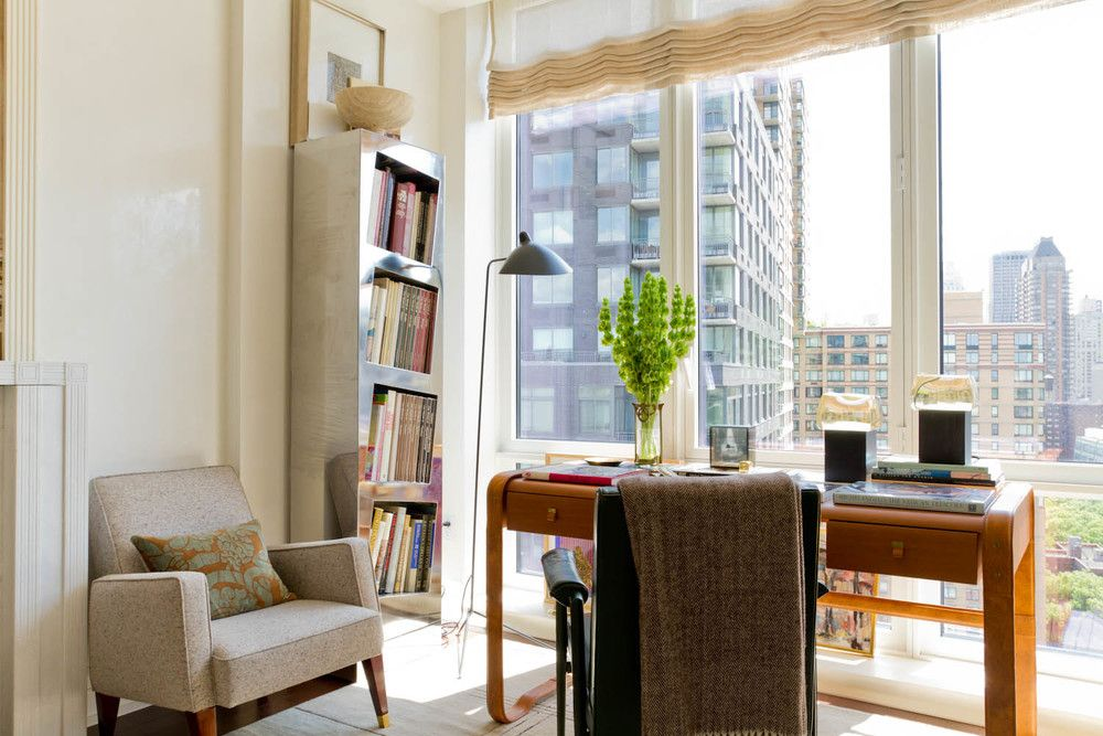 Nice Unusual Bookshelves Interior Decoration in the small New York condo requires a little of space