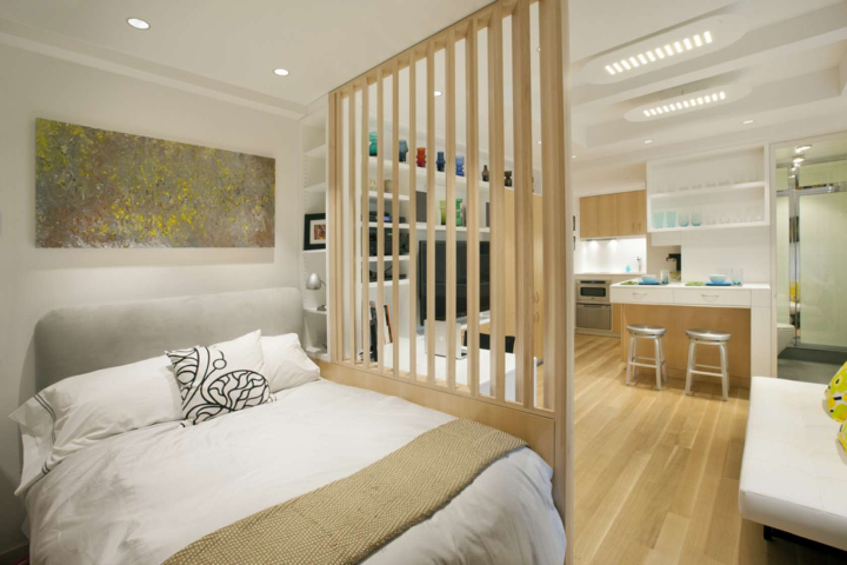 Bedroom Partitions Interior Partitions Room Zoning Design Ideas