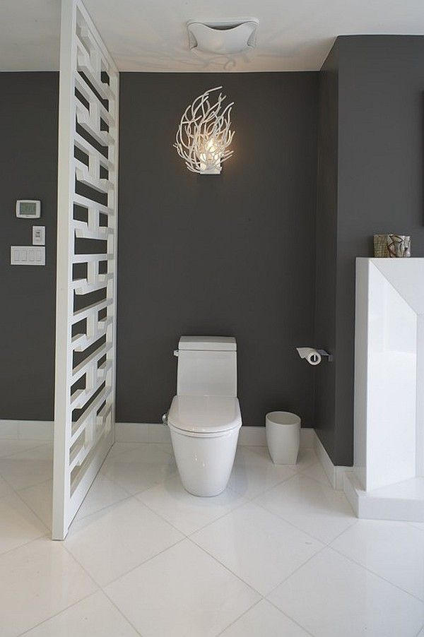 Interior Partitions Room Zoning Design Ideas in the WC