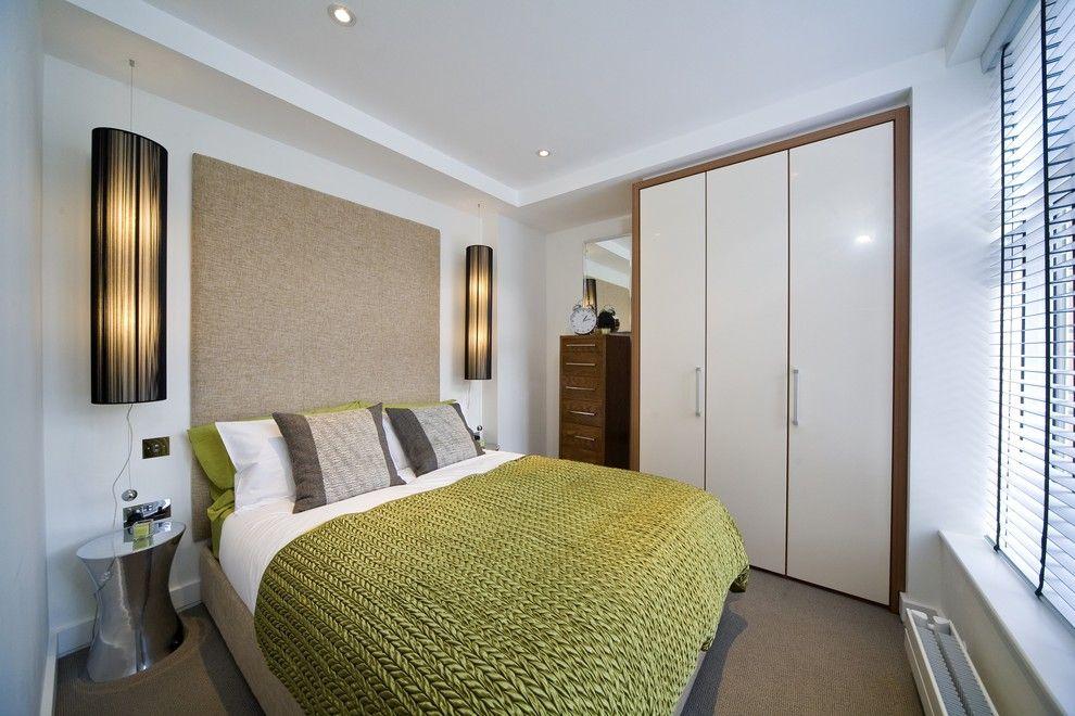 bedroom-wall-clocks-Bedroom-Contemporary-with-alarm-clock-armoire-bed