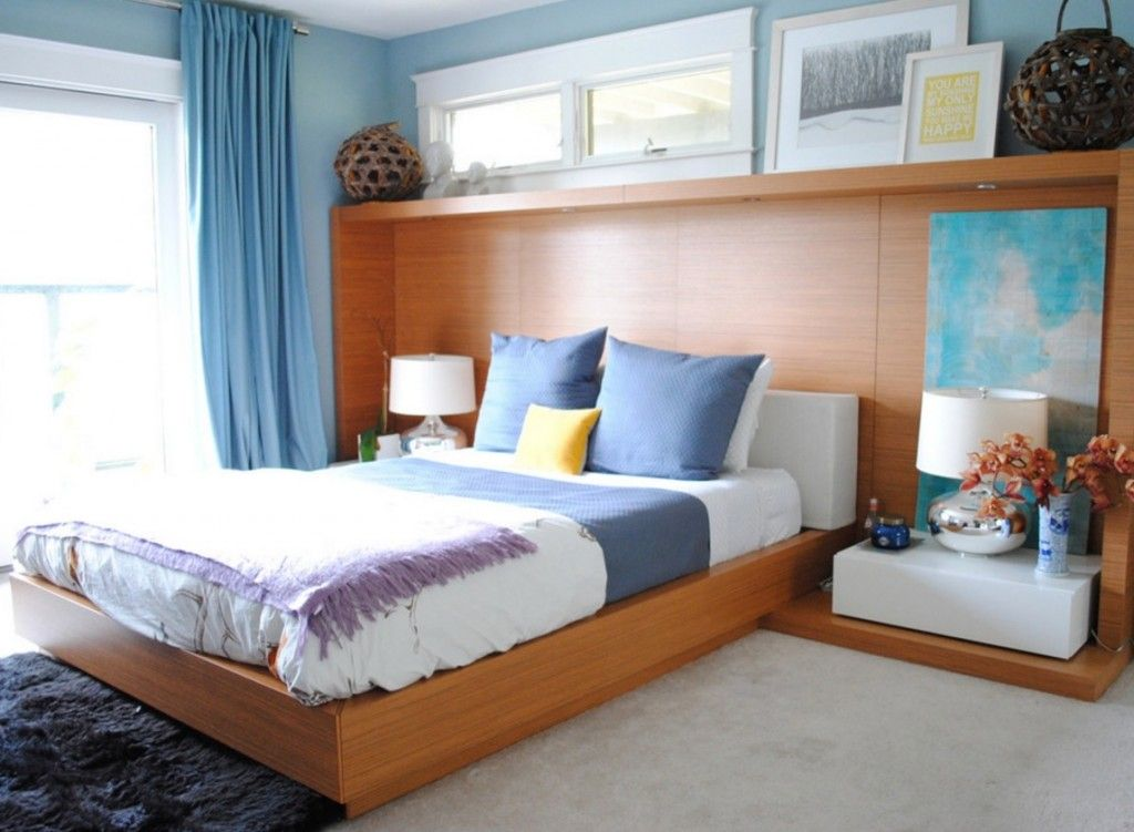 Rugs, Carpet, Carpeting Interior Design Ideas in the light wood trimmed bedroom with fluffy carpeting