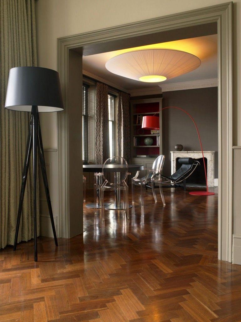 Modern Interior Design Light Fixtures Choice. Red torchere