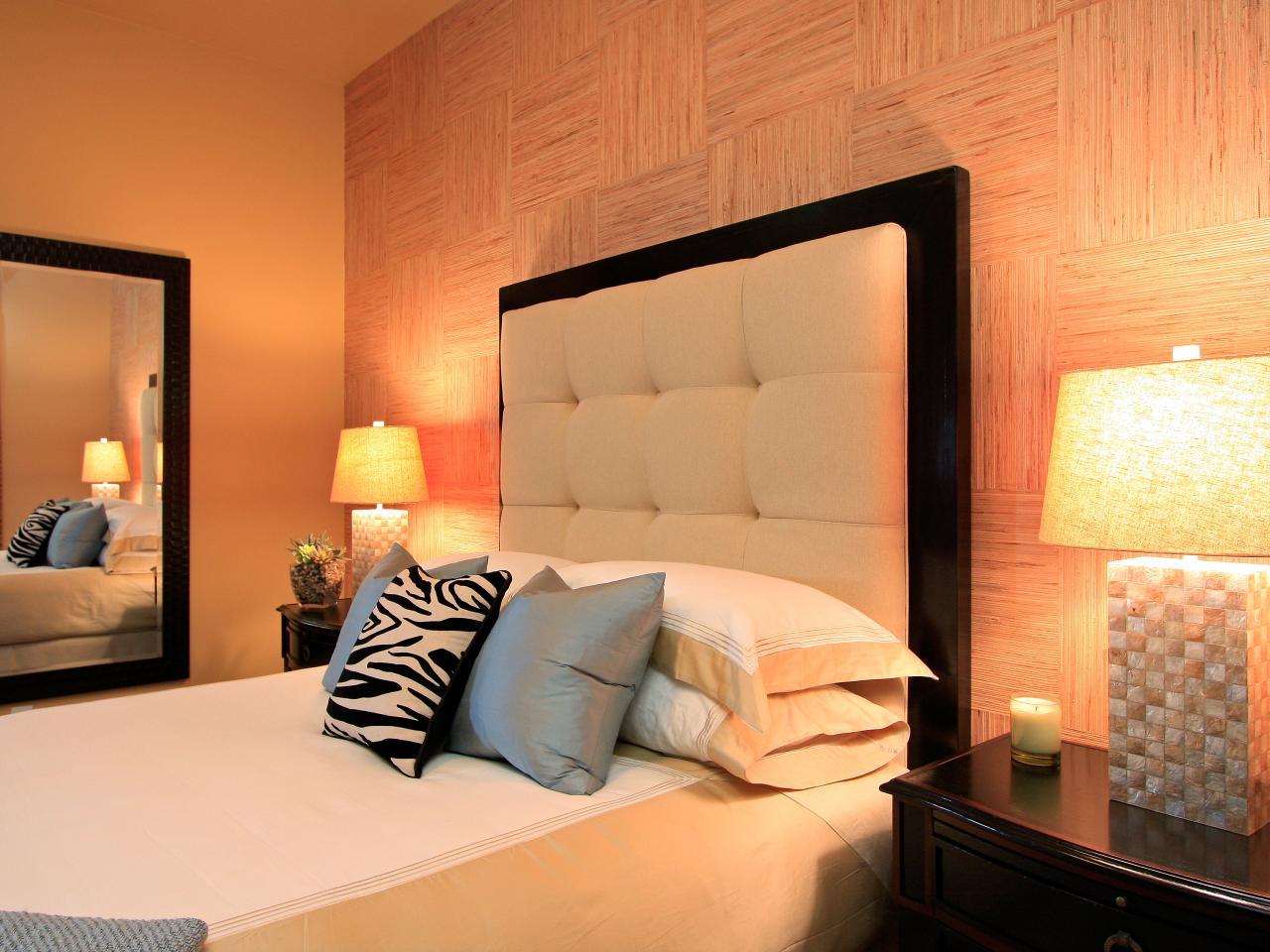 Bed Headboard Decoration Methods: Photos & Tips - Small Design Ideas