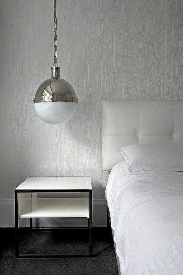 Modern Interior Design Light Fixtures Choice. Minimalistic foor pendant baloon lamp