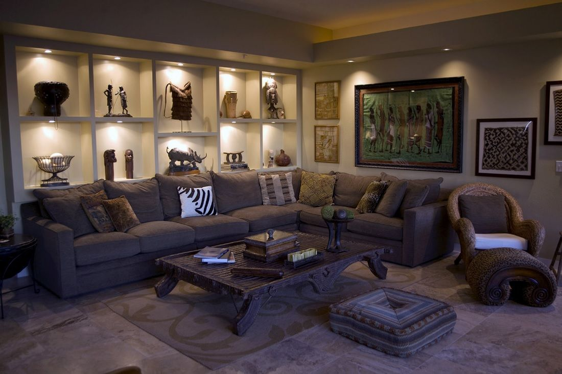 Interior Design Ideas For Living Rooms: African Interior Design Style