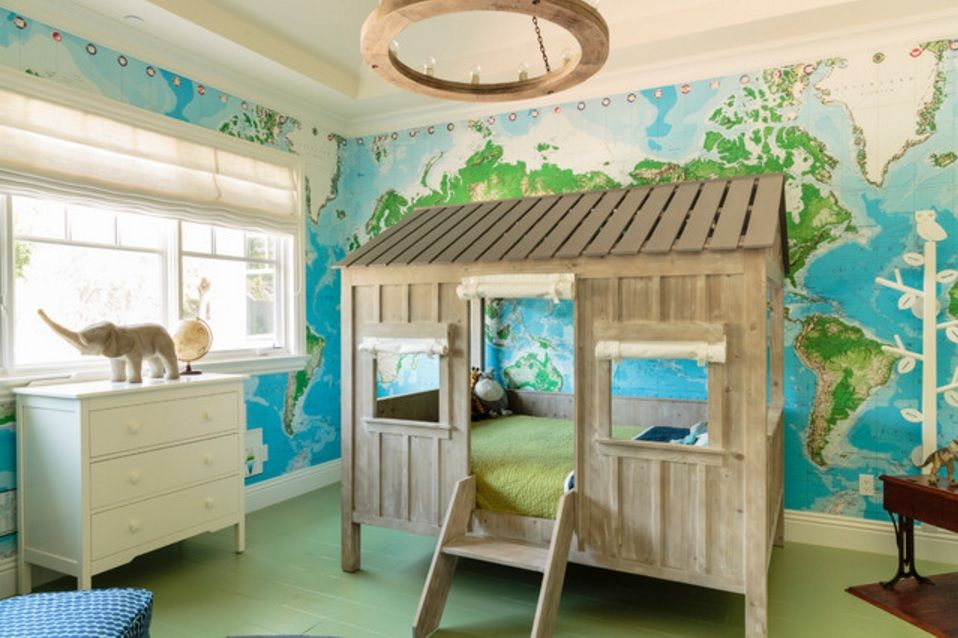Kids` Room Furniture Selection Advice. Green house for games