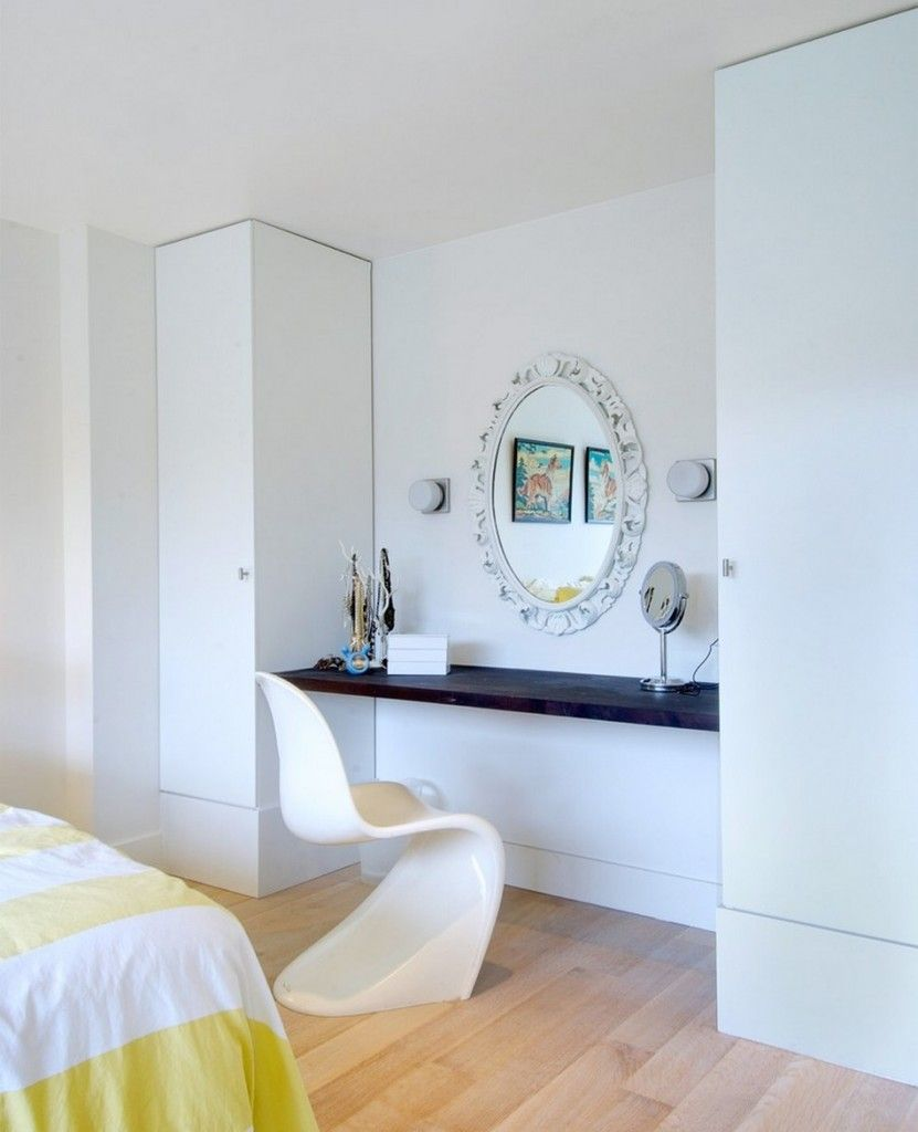 Dream Bedroom Wardrobe Decorating Ideas. Women`s dream room with dressing and boudoir