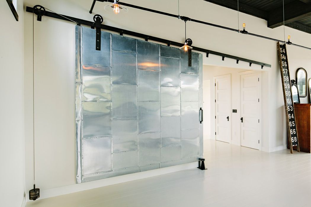 Sliding doors interior design ideas small design ideas - Porte coulissante style industriel ...