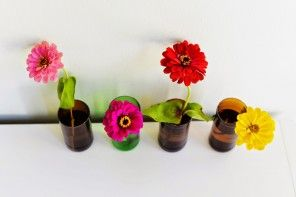 Home DIY Vase Interior Decoration Advice, Nice neat and charming glass vases