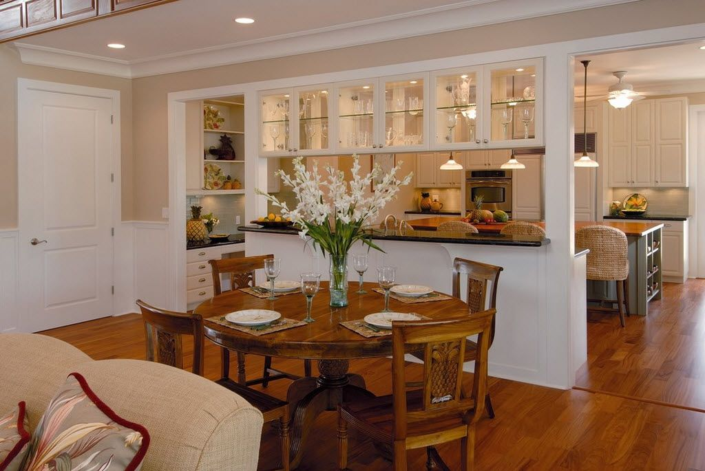 Beautiful Lovely Combined Kitchen And Dining Room Part   9: Combined Kitchen And  Living Room Interior