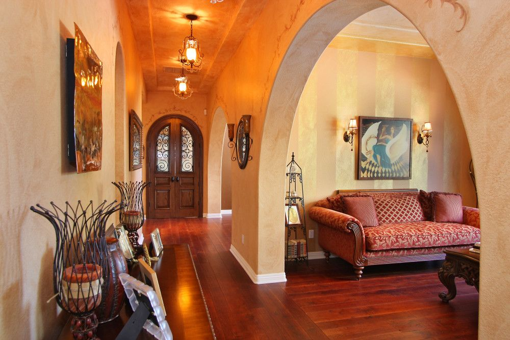 Interior room arches decoration ideas for Interior decoration pics