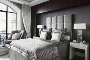 Modern Bedroom Design Trends 2016 in the dozed black interior