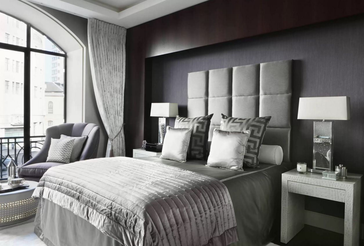 Modern bedroom accessories - Modern Bedroom Design Trends 2016 In The Dozed Black Interior