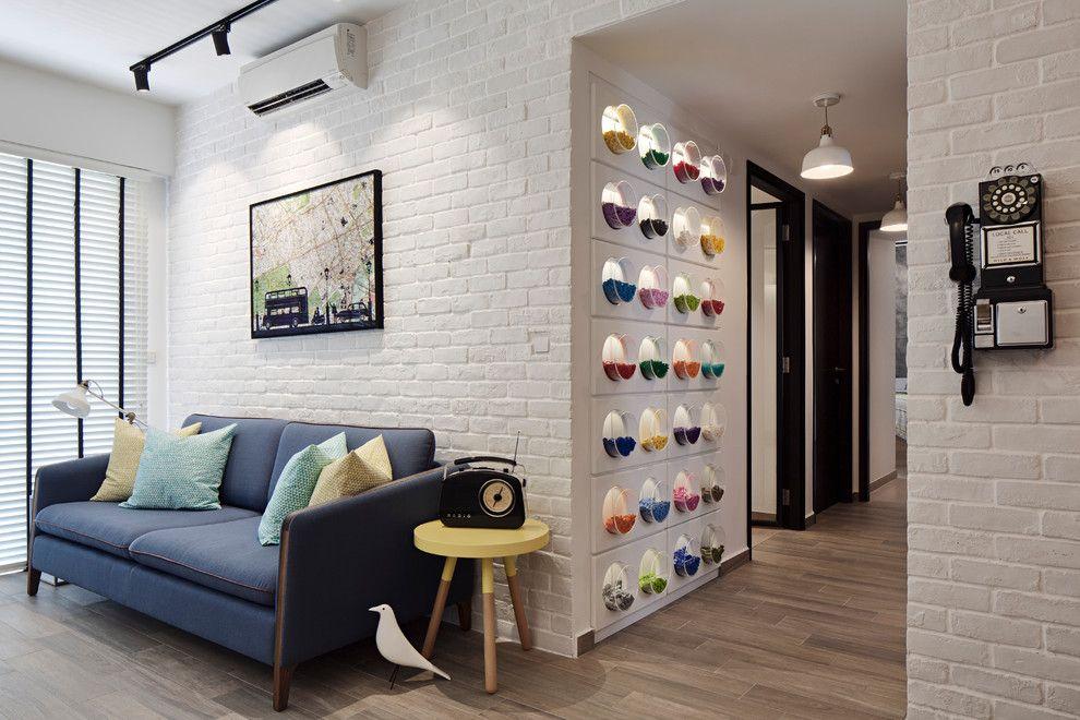 Modern Interior Design Laminate Use