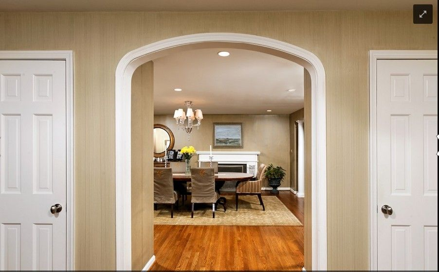 Interior Room Arches Decoration Ideas. Restraint design of the British type