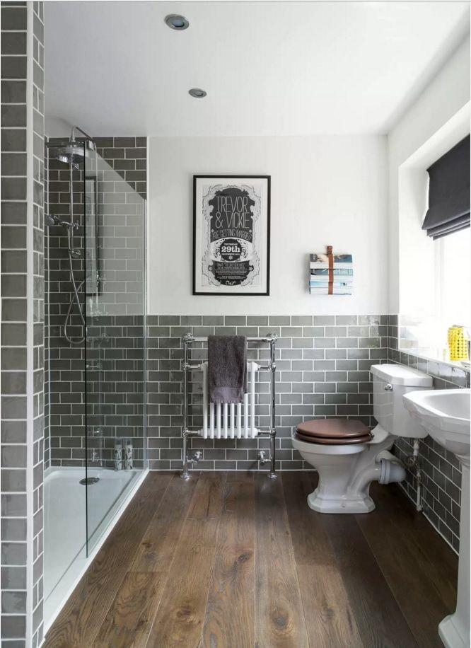 Choosing New Bathroom Design Ideas 2016. Metro Tile Blocks Are Always In  Harmony With Utilitarian