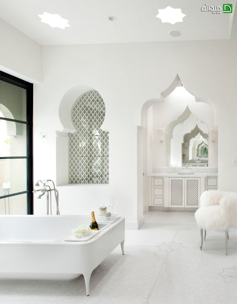 Interior Room Arches Decoration Ideas. Turkish design in the bath