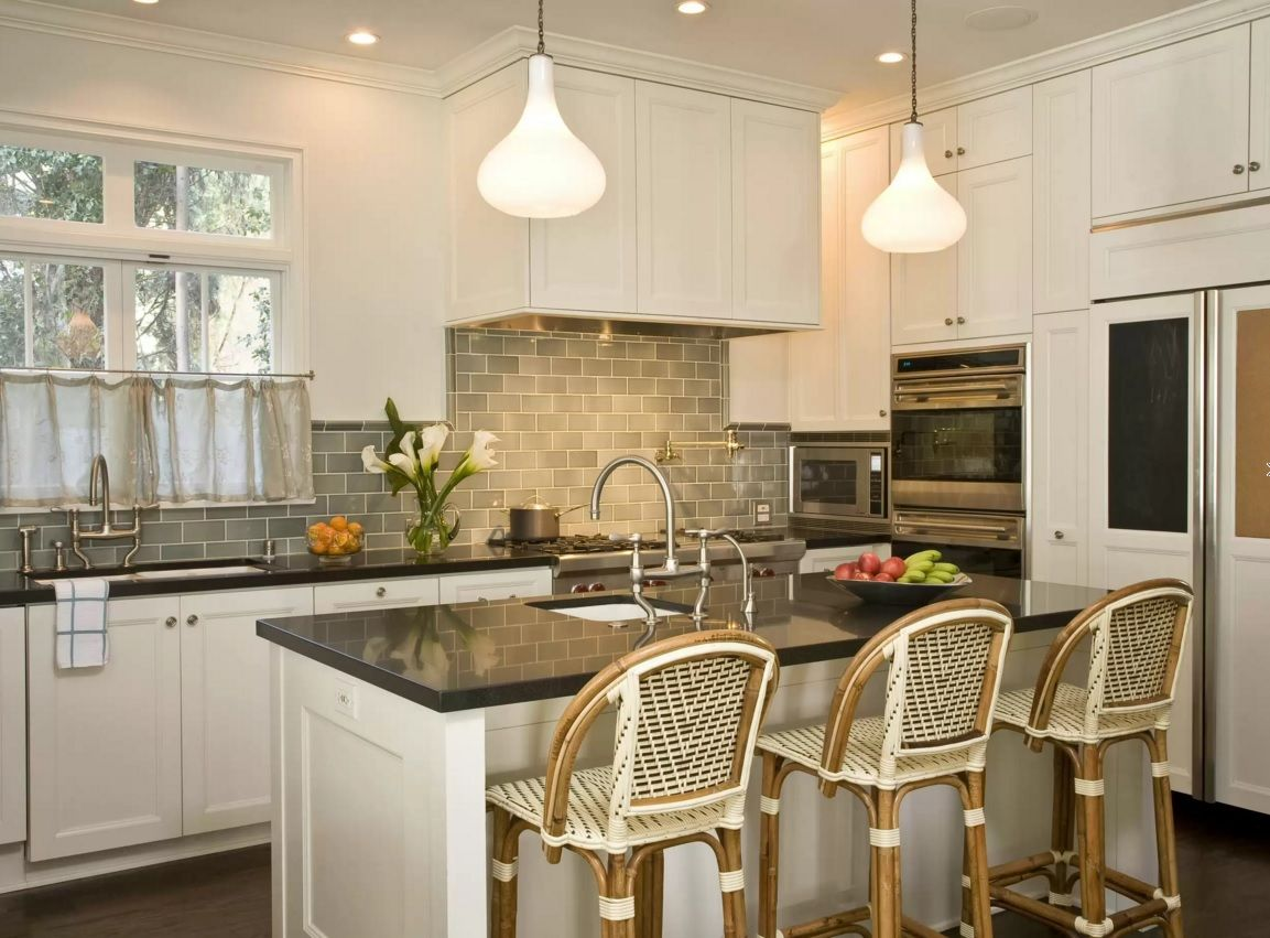 Kitchen Design Latest Trends 2016. Trendy metro tile backsplash in Classic interiors