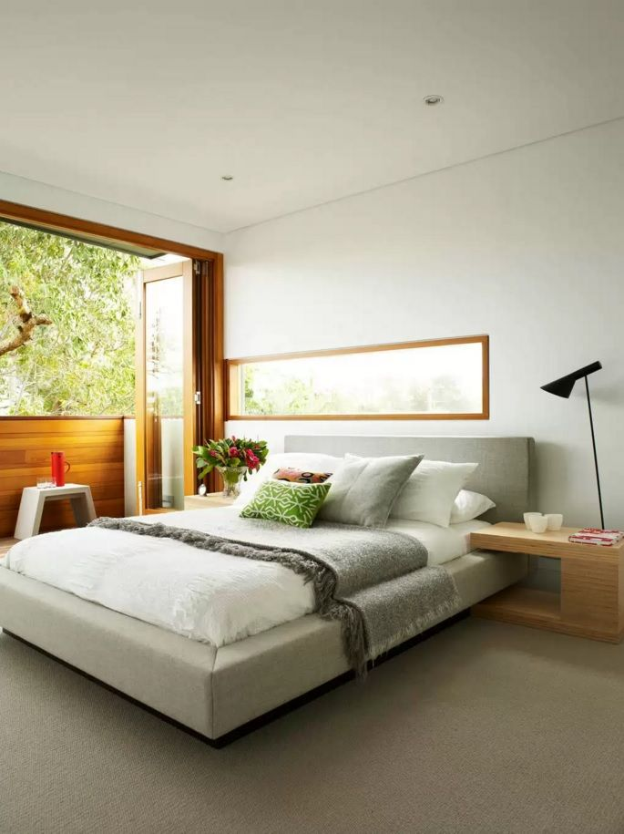 mode_bed_nat_des - Small Modern Bedroom Decorating Ideas