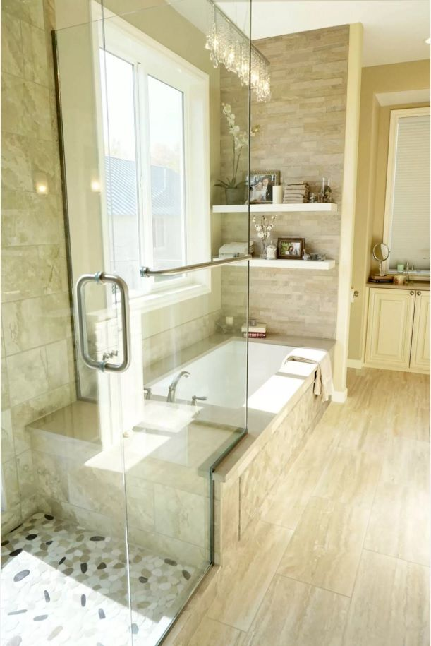 Choosing New Bathroom Design Ideas 2016. Natural Tones In The Interior Are  Timeless