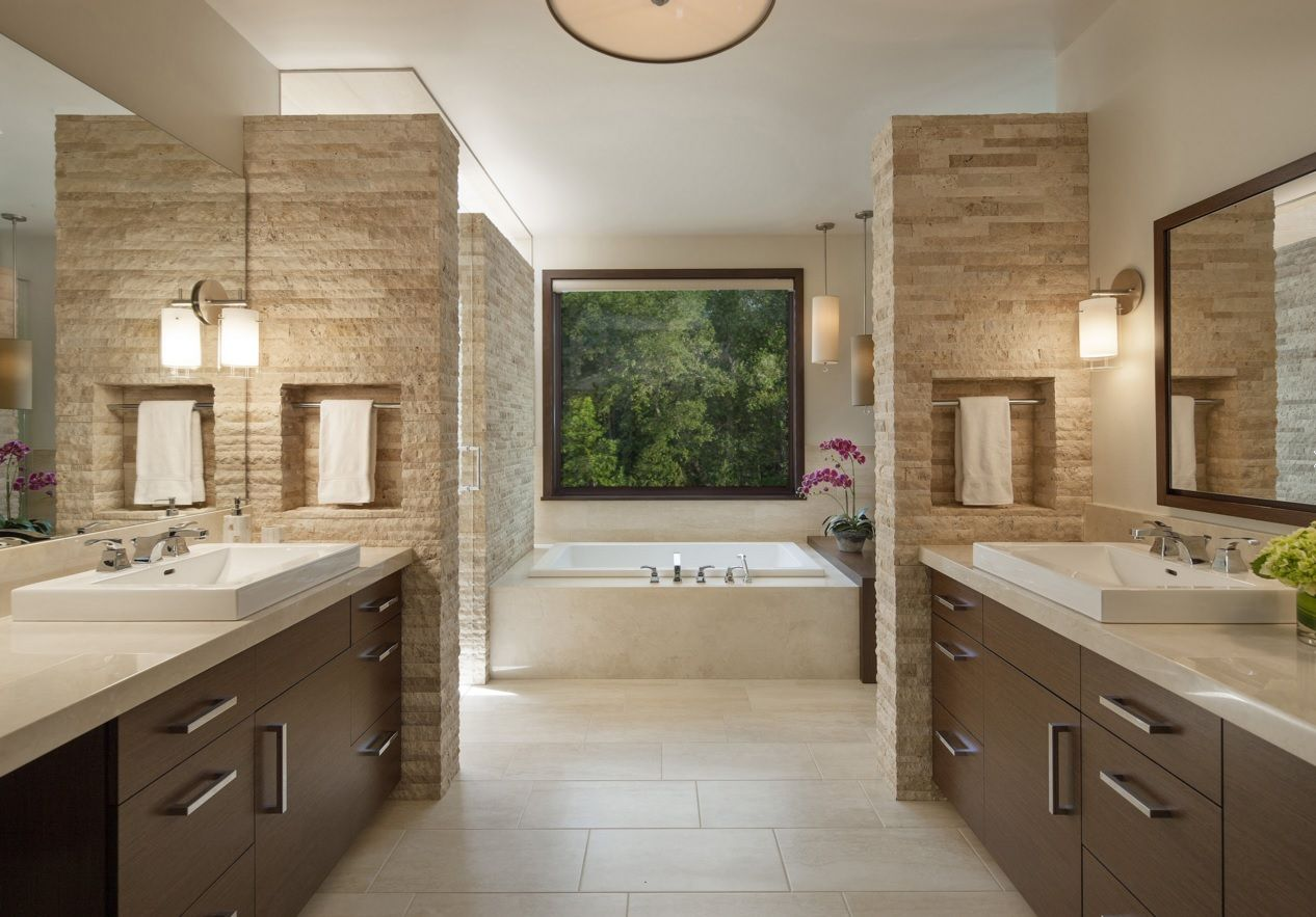 Choosing new bathroom design ideas 2016 for Large bathroom designs