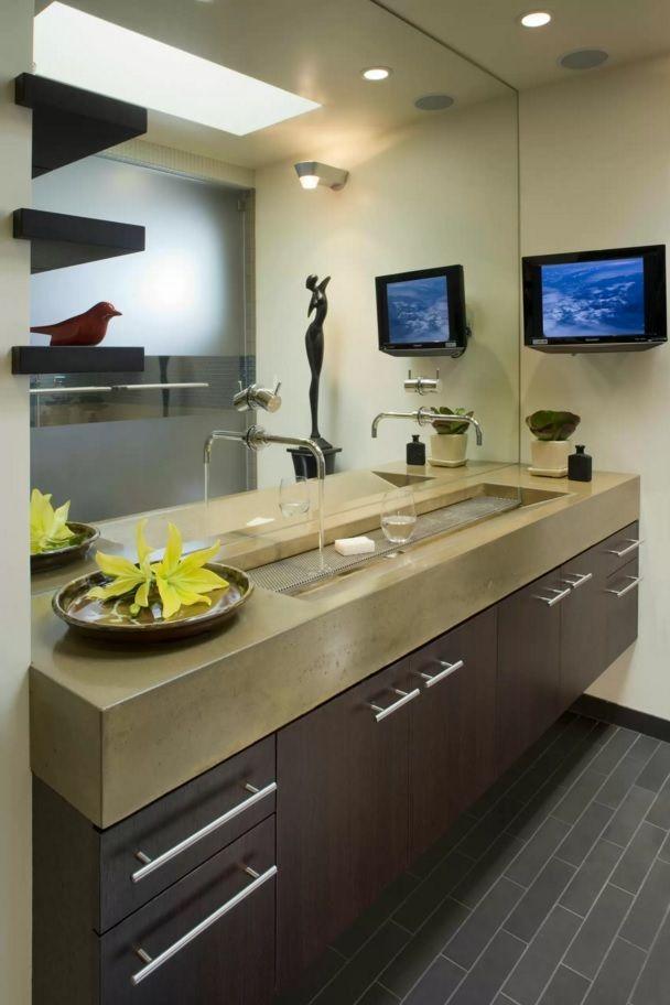 Choosing New Bathroom Design Ideas 2016. incredibly enticing sink design in the modern interior